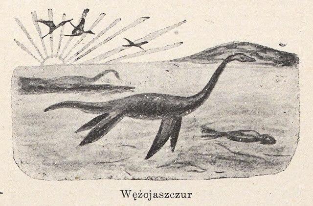 Rybo- zębo- wielko- jaszczur, czyli dinozaury okiem badaczy sprzed stu lat.